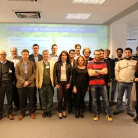 AEGIS Kick-off Meeting @Berlin
