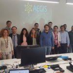 AEGIS Project Team in Milano
