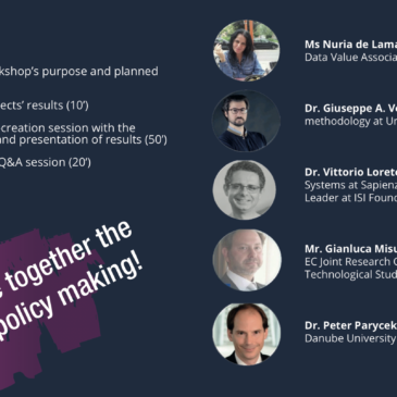 "Workshop on ""Transforming Decision and Policy Making through Big Data"""